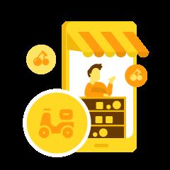 生鲜、超市、外卖配送系统