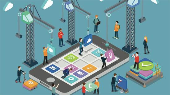 App开发行业分析,不懂编程技术也能自己制作App